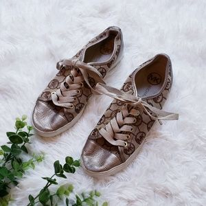 🔴4/$25 Michael Kors logo leather shoes sneakers